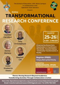 Transformational Research Conference flyer